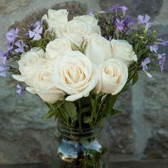 Peaceful Message White Rose Bouquet