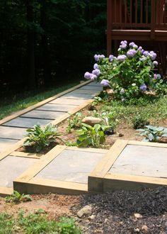 DIY Outdoor Staircase | Hometalk