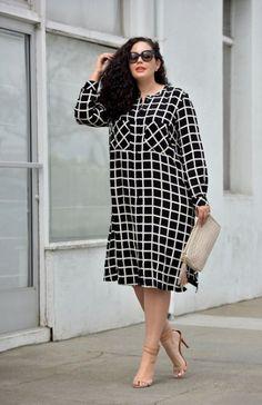 Fashion Women's Plus Size Curvy Fashionista Simple 46 Ideas For 2019 Modest Dresses, Trendy Dresses, Plus Size Dresses, Plus Size Outfits, Casual Dresses, Dresses For Work, Plus Size Shirt Dress, Casual Outfits, Pageant Dresses