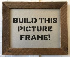 Join us at Schnarr's Hardware in Webster Groves to learn how to use reclaimed wood pieces to make a frame that fits an 8 x picture. Webster Groves, Picture Frames, Scrap, Hardware, Wood, How To Make, Pictures, Crafts, Portrait Frames