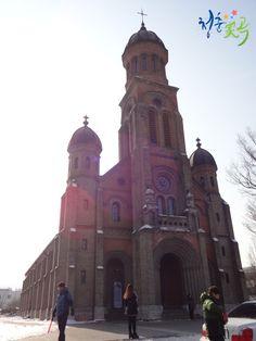 Jeondong catholic church in Jeonju