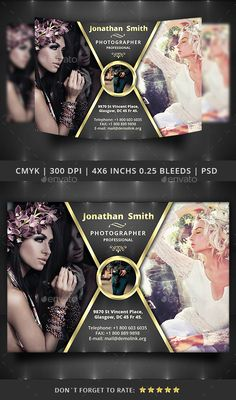 Photography Flyer Template — Photoshop PSD #photography flyer template #corporate • Available here → https://graphicriver.net/item/photography-flyer-template/14173225?ref=pxcr