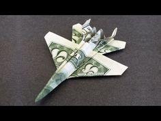 F-18 Jet Fighter Money Origami - Dollar Bill Art