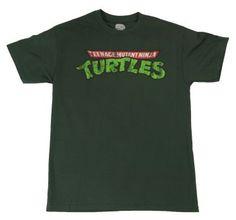 Classic Green TMNT Shirt