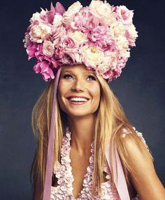 Harper's Bazaar US March 2015 | Gwyneth Paltrow in Alexander McQueen by Alexi Lubomirski