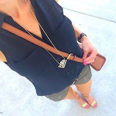 Suddenly it feels like summer! �    Tap for brands or shop exact top, necklace + similar.... @liketoknow.it www.liketk.it/1sQdg #liketkit