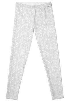 A personal favorite from my Etsy shop https://www.etsy.com/listing/464291068/grey-geometric-leggings-womens-leggings
