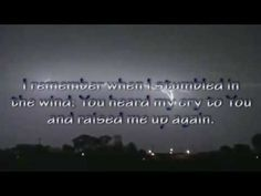 Praise you in this Storm - Casting Crown - Lyrics