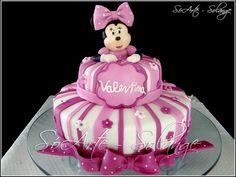 Bolo Decorado – Minnie  soartesolange.com