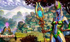Elvenar. La tarea del jugador es transformar a pequeños asentamientos insignificantes en el gran reino.