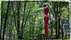 https://flic.kr/p/EcYwdY | red woman in the forest
