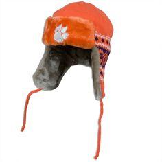 Clemson Tiger Orange Team Trapper Eskimo Hat