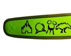 Walt Disney World Icons Magic Band Decal