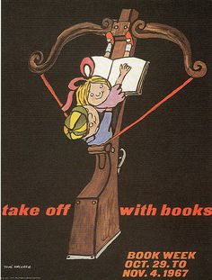1967, Tomi Ungerer book week poster