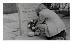 Patti Smith laying flowers at the grave of William Blake. Still image from Dream of Life by Patti Smith https://agapeta.wordpress.com/2015/01/28/ernest-dowson-sonnets-of-a-little-girl-v/