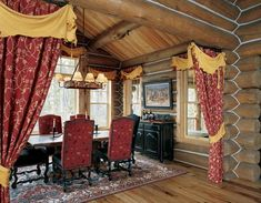 Country home interior design Western Style Interior, Cabin Interior Design, Country House Interior, Beautiful Interior Design, Western Decor, House Design, Design Hotel, Log Home Decorating, Decorating Ideas