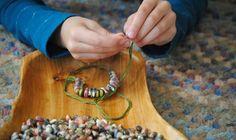 DIY Corn Jewelry