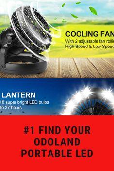 Odoland Portable LED Outdoors, Led, Sports, Hs Sports, Outdoor Rooms, Sport, Off Grid, Outdoor