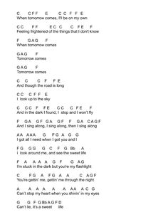 Flashlight by Jessie J (from Pitch Perfect 2) Flute Sheet Music Notes