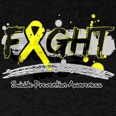 Suicide Prevention Awareness Dark T-Shirt