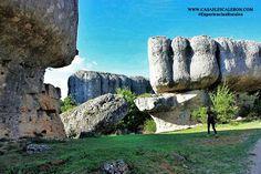 Formaciones rocosas caprichosas de la serrania de cuenca Mount Rushmore, Rock Formations, Mountains, Amazing, Nature, Travel, Pool Slides, Vacation, Destinations