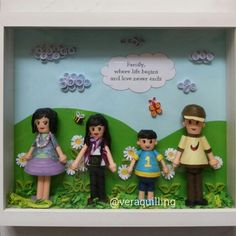 Quilling Doll 3D