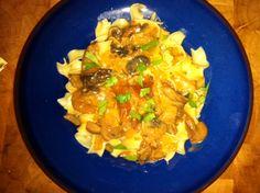 Fulenn's Kitchen: Mushroom Stroganoff
