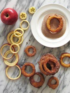 Fried Cinnamon Apple Rings   fortune goodies