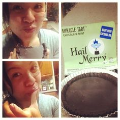 treat yourself #hardwork #dedication #hailmerry #miracletart #minttart