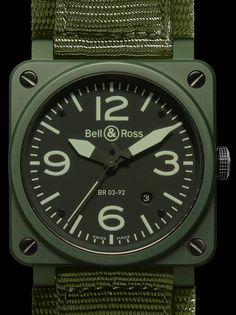 Bell & Ross Instrument BR03-92 Military Ceramic Watch Watch Releases