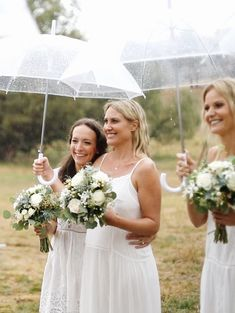 How to save the raining wedding day with clear umbrellas and smiles by The Honest Jones. Wedding Film, Wedding Day, Clear Umbrella, Umbrellas, Films, In This Moment, Weddings, Wedding Dresses, Pi Day Wedding