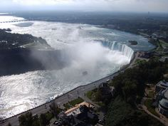 Niagara Falls, Canada...crossed the border myself and saw the falls in the winter! I need to go back in the summer :)
