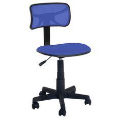 Mid Back Mesh Task Chair (Zebra), Black