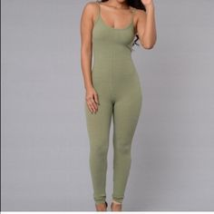 Ribbed jumpsuit Stretchy ribbed jumpsuit Other