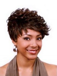 Best Curly African American Wigs | Short