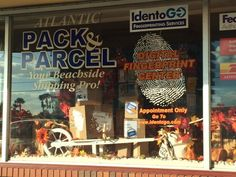 Fall into Shipping at Atlantic Pack & Parcel ® (November and Shop Small! Pack And Ship, Store Windows, November, Packing, Fall, Shop, Display Cases, November Born, Bag Packaging