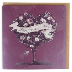 Heart tree Happy Mother's day card