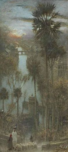 Albert Goodwin                      The City of Palm Trees