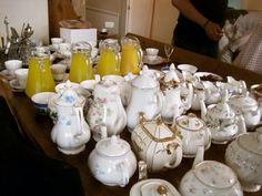 Our teapot collection