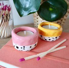 Ceramic Tea Light Holder by Ellart Ceramics, the perfect gift for Explore more unique gifts in our curated marketplace. Ceramic Clay, Ceramic Pottery, Pottery Art, Pottery Painting, Clay Art Projects, Ceramics Projects, Diy Clay, Clay Crafts, Keramik Design