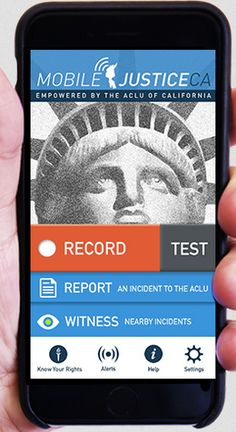 ACLU Mobile Justice App Records Police Actions as They Happen