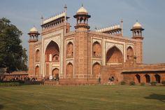 Main Gate, Taj Mahal, India