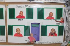 Building Social Intelligence in Prek Students-After watching Dave Matthews and Grover sing about feelings, students make their very own Emotions Game Board complete with photos of themselves expressing emotions and emotion sight words to match. Emotions Game, Feelings And Emotions, Group Therapy Activities, Therapy Ideas, Art Therapy, School Readiness, School Counselor, Books About Bullying, Teaching Empathy