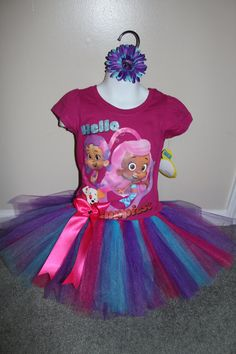 Bubble Guppies TuTu Outfit for Birthday Party