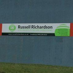 Russell Richardson retail signage Sheffield