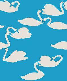 Black wallpaper - Wallpaper Trail (Page: Swan Wallpaper, Flock Wallpaper, Original Wallpaper, Animal Wallpaper, Textured Wallpaper, Pattern Wallpaper, Textures Patterns, Print Patterns, Swan Pictures