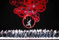 Opera...often completely symbolic...Il Naso - Teatro dell'Opera