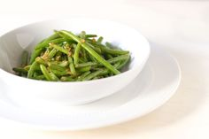 Side Recipe: Sauteed Green Beans with Garlic