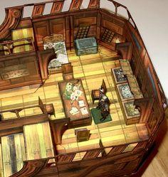 m Pirate Master and commander Captains quarters ship sea coastal docks urban city desert jungle