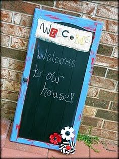 use @Valspar_Paint to create a chalkboard on an old cabinet. My parents are redoing their kitchen so I'll have plenty for gifts!